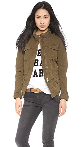 Maison Scotch Fitted Military Jacket