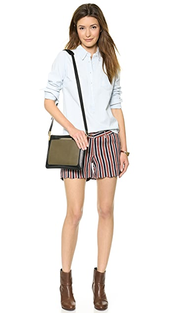 Scotch & Soda/Maison Scotch Retro Striped Shorts