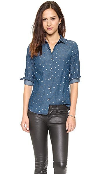 Scotch & Soda/Maison Scotch Iconic Maison Scotch Preppy Shirt