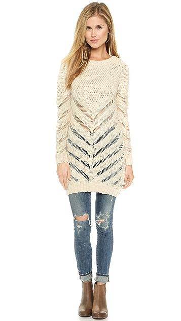Scotch & Soda/Maison Scotch Longer Length Artic Sweater