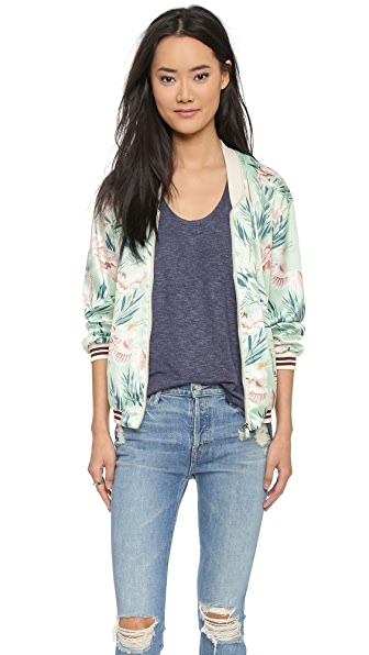 Scotch & Soda/Maison Scotch Tropical Bomber Jacket