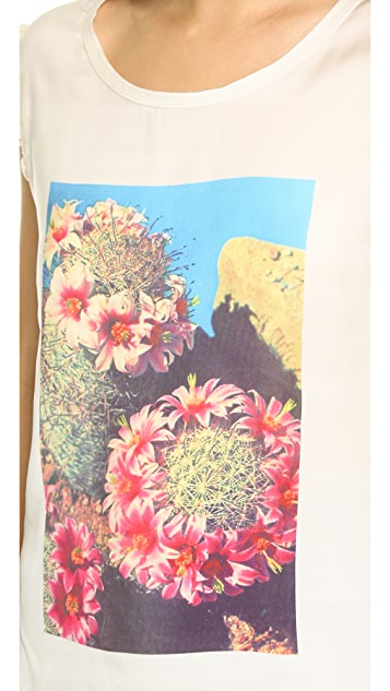 Scotch & Soda/Maison Scotch Tropical Flower Tee