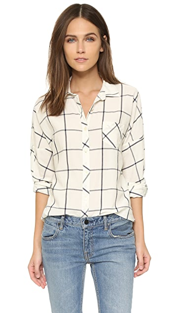 Scotch & Soda/Maison Scotch Button Up Boyfriend Shirt