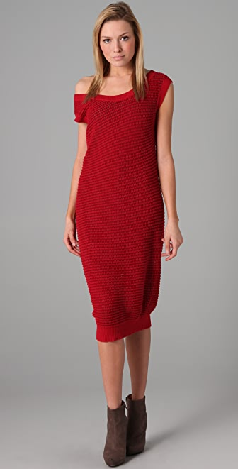 MM6 Sleeveless Knit Dress