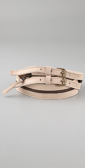MM6 Zipper Belt