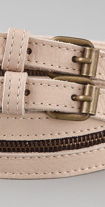 MM6 Zipper Belt