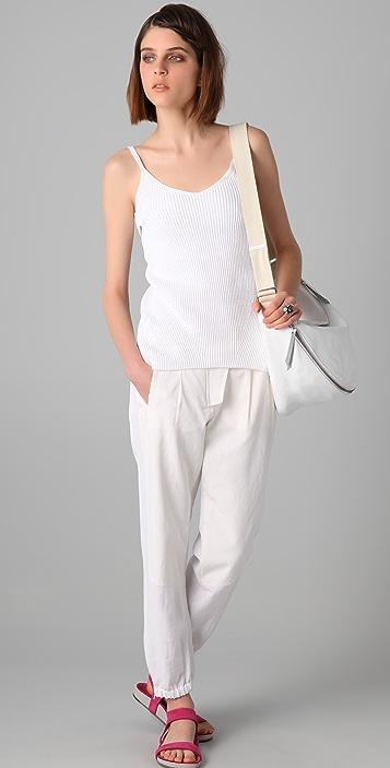 MM6 Knit Tank with Twist Back