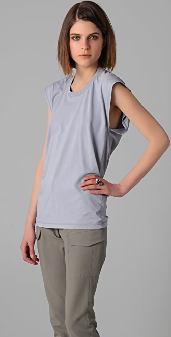 MM6 Sleeveless Crew Neck Tee