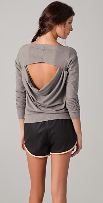 MM6 Open Back Sweatshirt