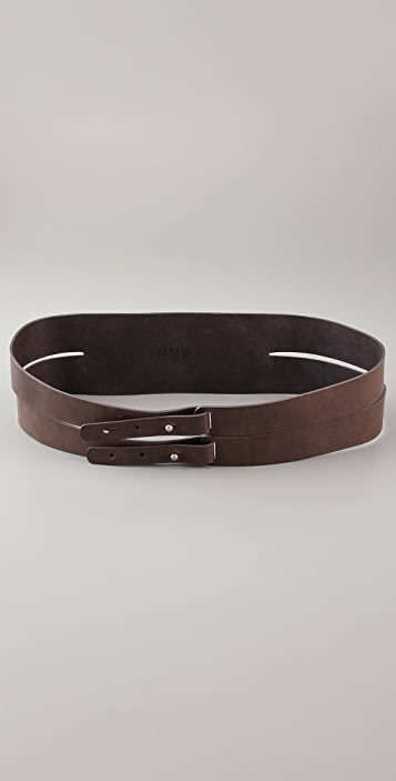 MM6 Double Wrap Belt