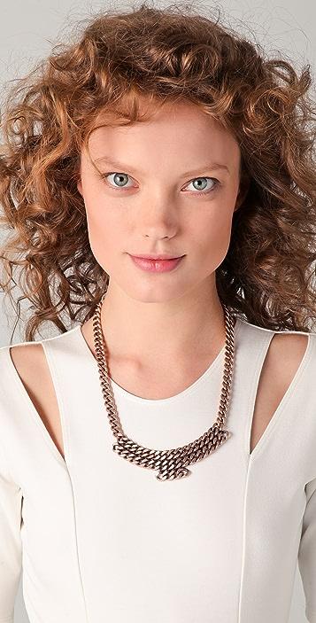 MM6 Pink Galvanic Necklace