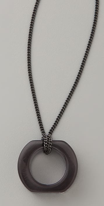 MM6 Lucite Necklace / Ring