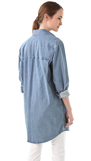 MM6 Oversized Denim Shirt