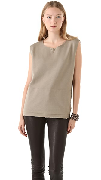 MM6 Sleeveless Sweatshirt