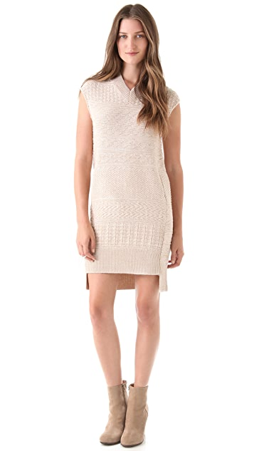 MM6 Textured Knit Dress