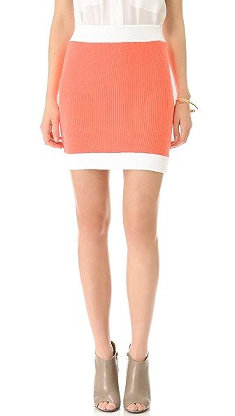 MM6 Knit Mini Skirt