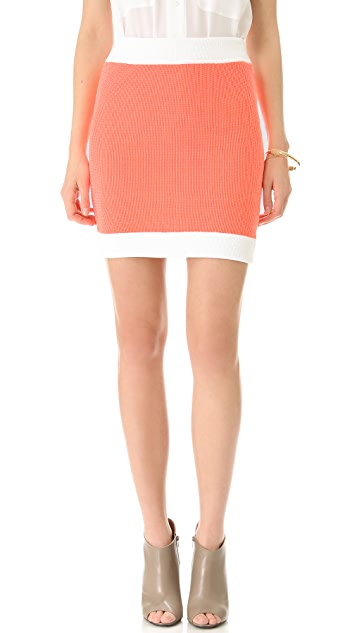 MM6 Knit Mini Skirt
