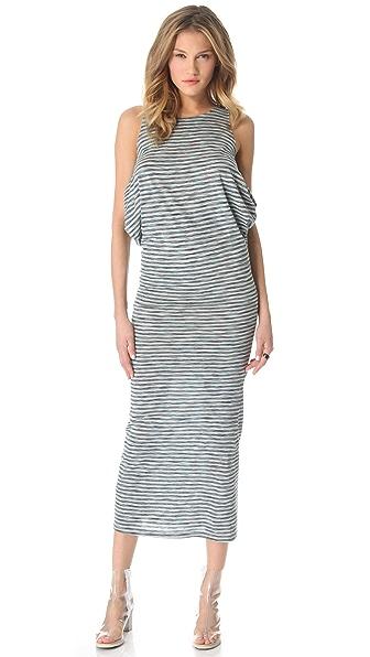 MM6 Striped Tank Dress