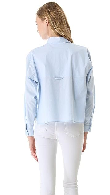 MM6 Cotton Button Down Shirt