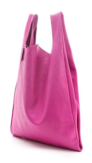 MM6 Leather Shopper