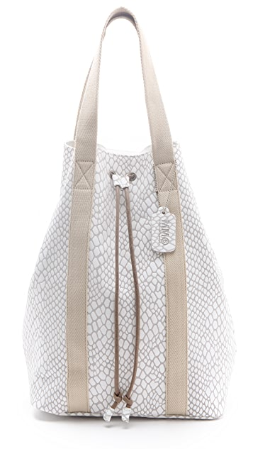 MM6 Drawstring Convertible Tote