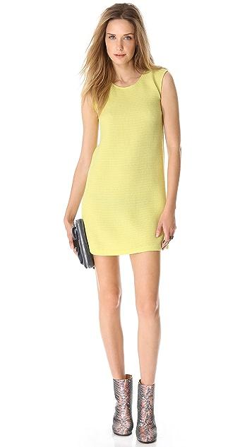 MM6 Sleeveless Waffle Dress