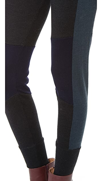 MM6 Wool Cuffed Ankle Pants