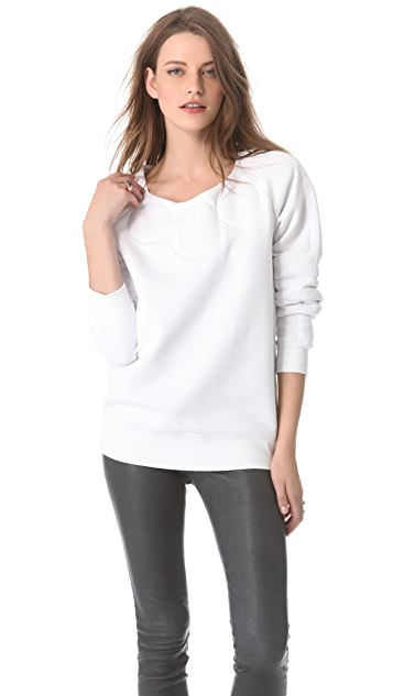 MM6 Quilted Sweatshirt