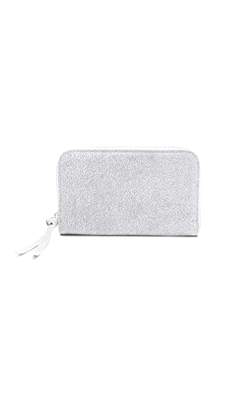 MM6 Texture Zip Clutch