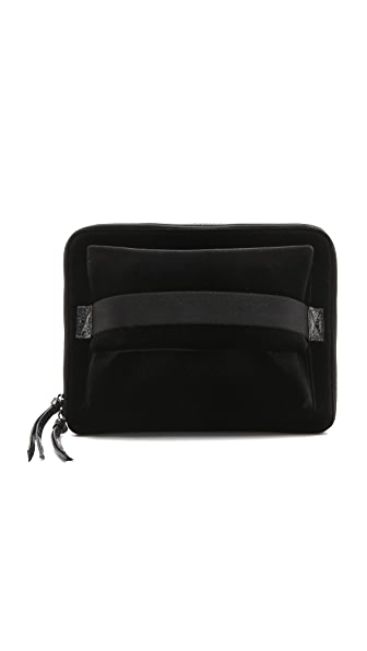 MM6 Velvet iPad Clutch