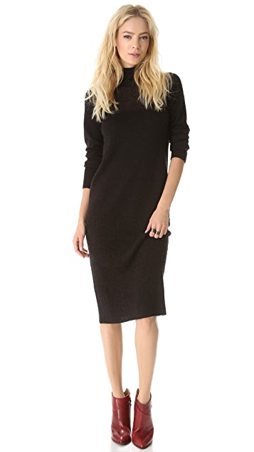 MM6 Turtleneck Sweater Dress