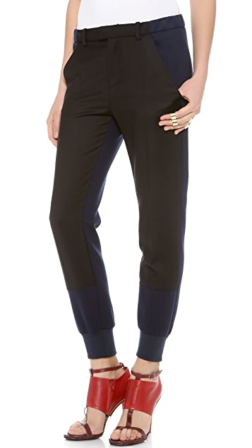 MM6 Gathered Ankle Pants