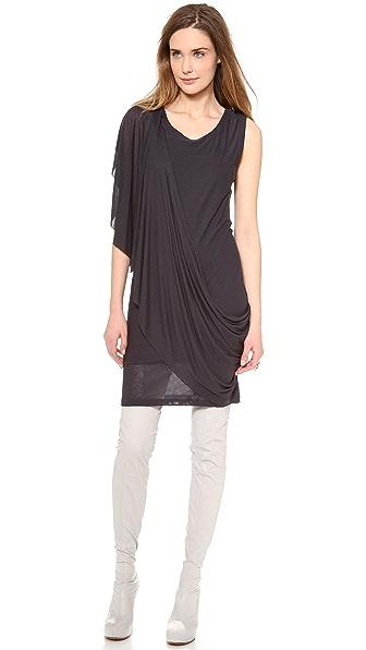 MM6 Drape Sleeve Dress
