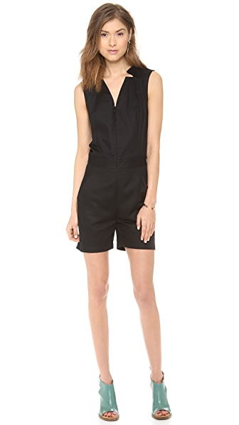 MM6 V Neck Romper