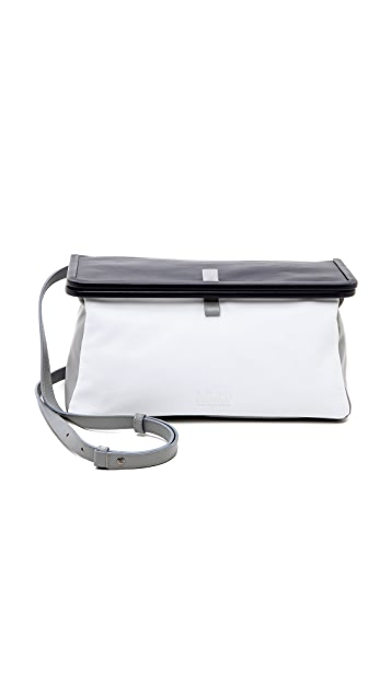 MM6 Leather Shoulder Bag