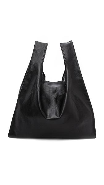 MM6 Leather Shopper