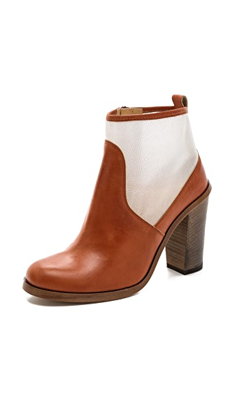 MM6 Mesh Inset Booties