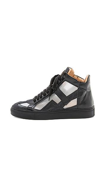 MM6 High Top Sneakers