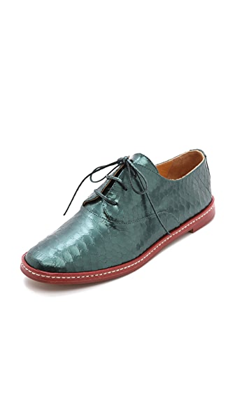 MM6 Python Embossed Oxfords