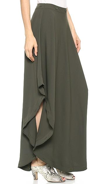 MM6 Uneven Hem Skirt
