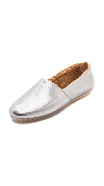 MM6 Sherpa Slip On Flats