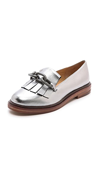 MM6 Loafers wtih Fringe Detail