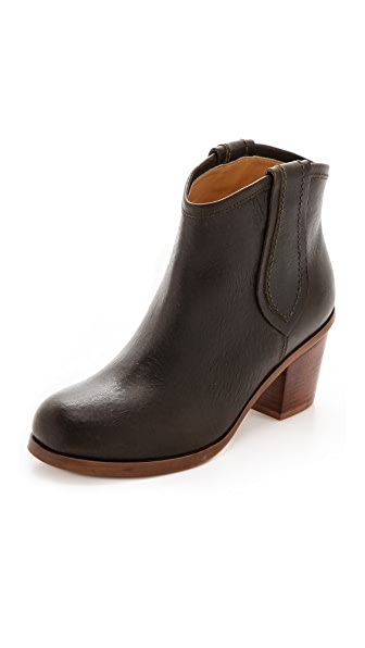 MM6 Western Pull On Booties