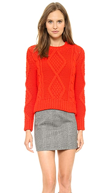 MM6 Chunky Knit Sweater