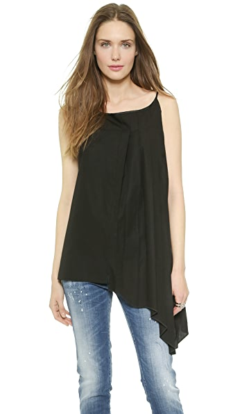 MM6 Half Pleated Tunic Tank