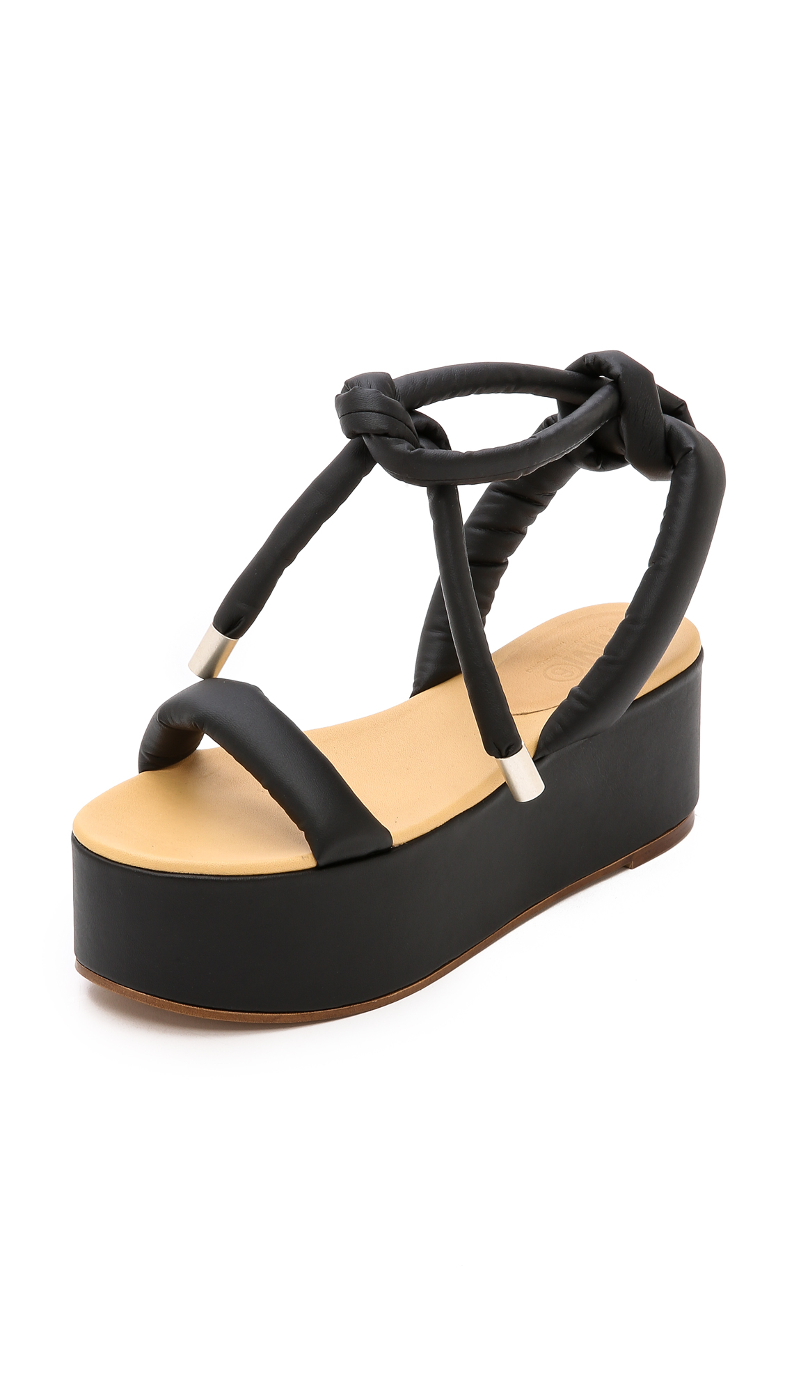 e8d24bb4ecdd MM6 Platform Sandals