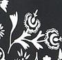Scarf Black Print/Black