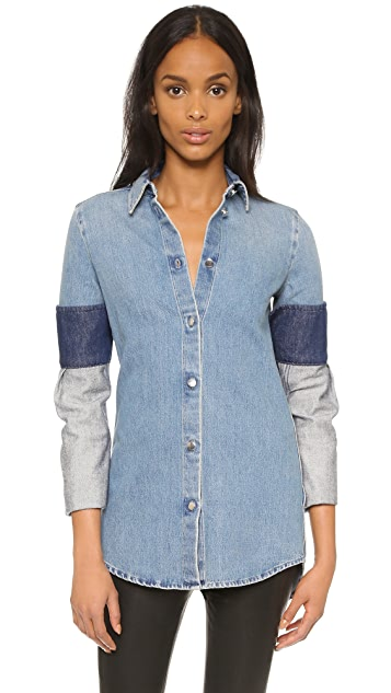 MM6 Button Down Top