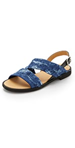 Flat Sandals                MM6