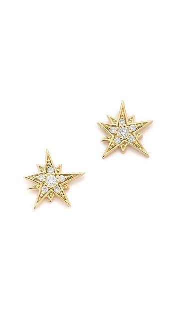 Maiyet Moon & Stars Stud Earrings